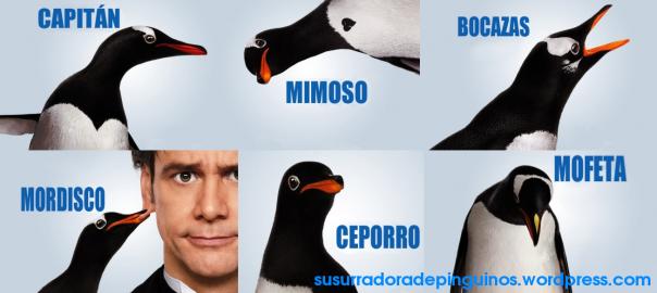 pingüinos del señor poper